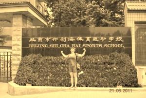 У входа в Школу